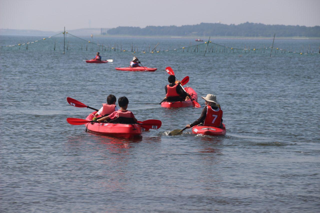【中止】葛⻄海浜公園カヌー体験教室